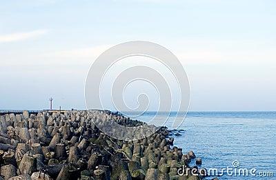 Coastal defense system