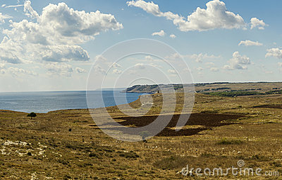 otranto coast landscape panorama