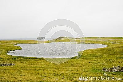 Coastal landscape, Eshaness, Shetlands