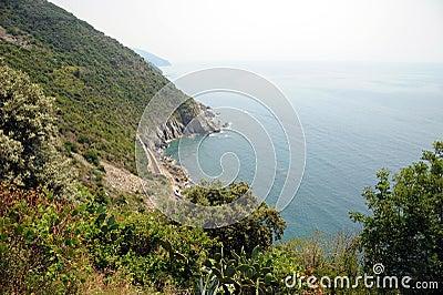 Coastal path, Cinque Terre ITALY