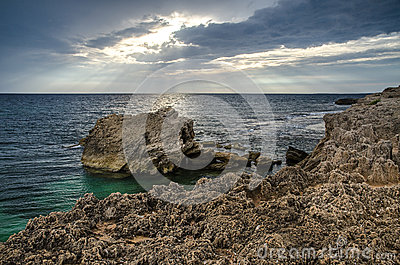 Coastal rock, Is Aruttas, Sardinia