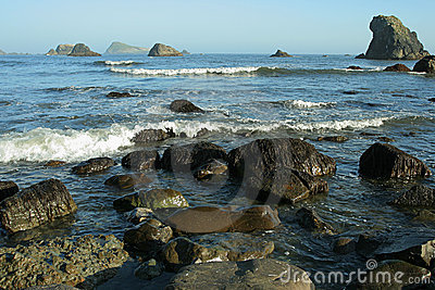 Coastal rocks, Oregon