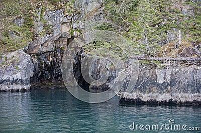 Coastal sea cave