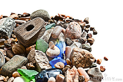 Coastal shingle