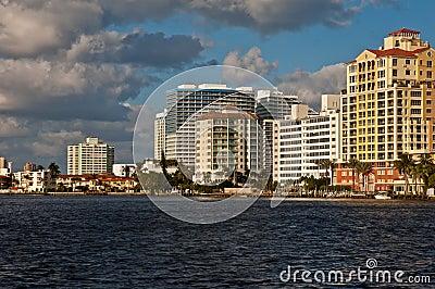 Coastal skyline