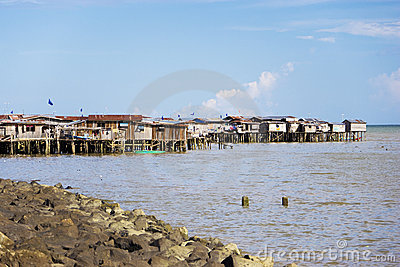 Coastal Slums of Tawau