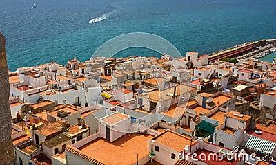 Coastal Spanish town.