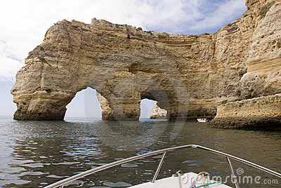 Coastal view in Algarve