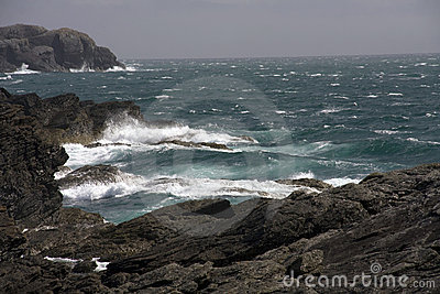 Coastal view around Anglesey