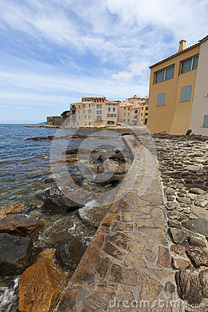 Coastal views of St Tropez