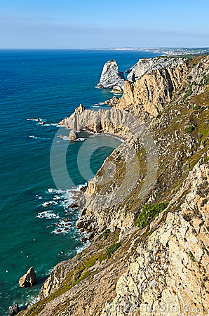 Coastline at Cabo da Roca, Portugal