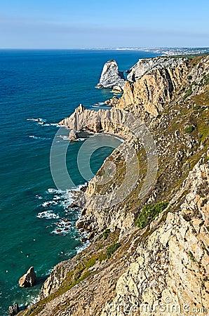 Coastline at Cabo da Roca, Portugal