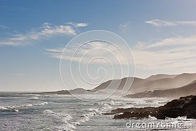 Coastline at the Cape of Good Hope