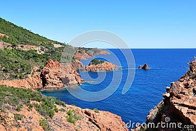Coastline Cote d Azur