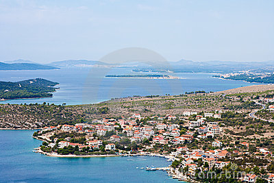 Coastline of Dalmatia - Sibenik area