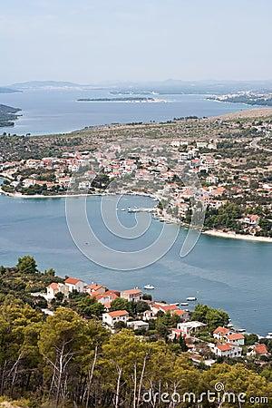 Coastline of Dalmatia - Sibenik area