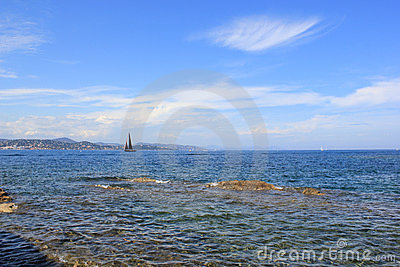 Coastline French Riviera