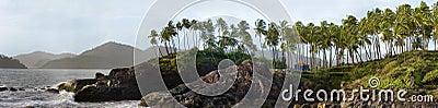 Coastline of goa