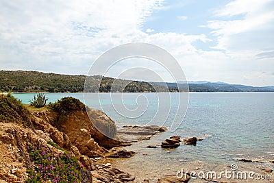 Coastline in Greece
