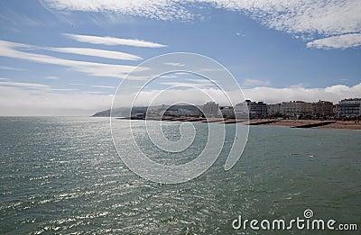 Coastline holiday resort England Eastbourne