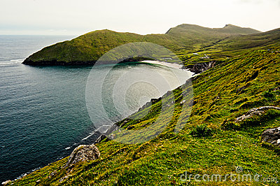 Coastline in Ireland