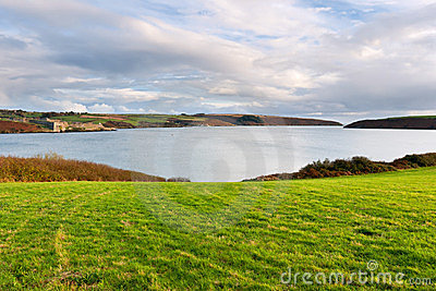 Coastline in Kinsale. Ireland