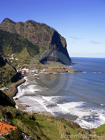 Coastline of Madeira