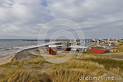 Coastline in north Denmark