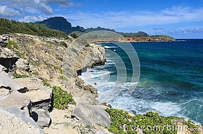 Coastline, Poipu Beach, Kauai