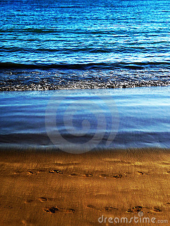 Coastline Sand View