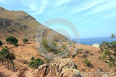 Coastline of Sicily, Italy