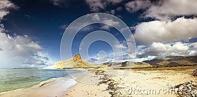 Coastline in Socotra