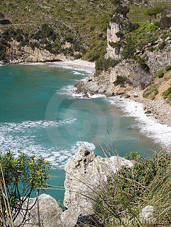 Coastline about Sperlonga