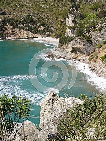 Coastline about Sperlonga