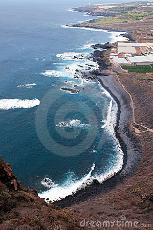 Coastline of Tenerife