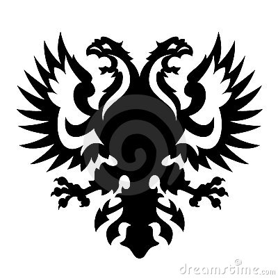 Coat of arms albania russia