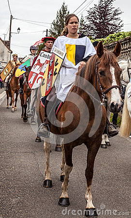 Coat of Arms Bearers Editorial Stock Image