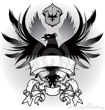 Coat of arms with eagle