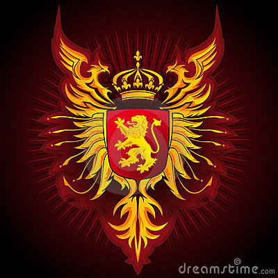 Coat of Arms - Eagles and Lion