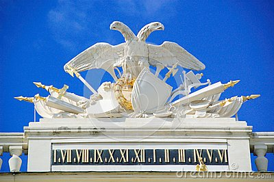 Coat of arms at Schoenbrunn
