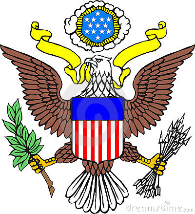 Free Coat Of Arms Of USA Royalty Free Stock Image - 4561126