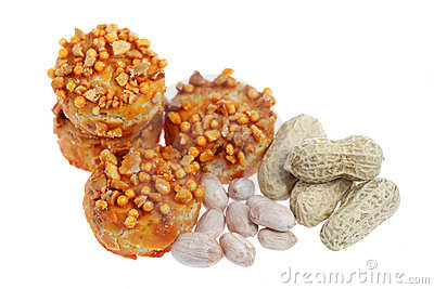 Coated Peanut Cookie