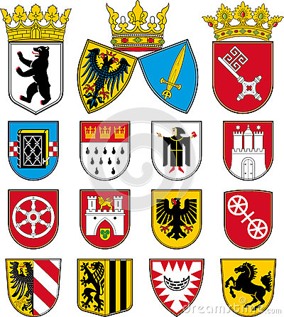 Coats of arms of cities in Germany