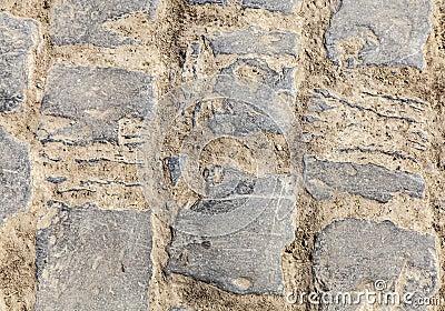 Cobbelstone Road- Detail