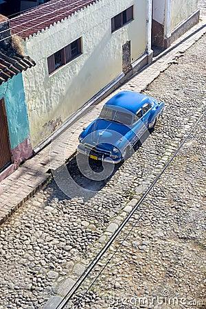 Cobble Stone Car - Trinidad Cuba