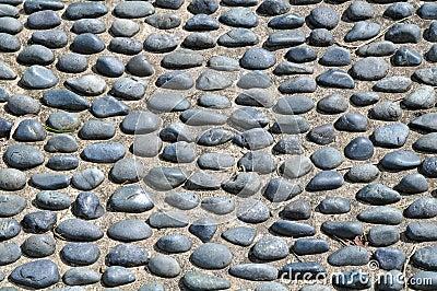 Cobble Stone Floor