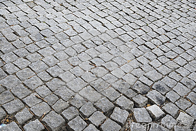 Cobbled Straße