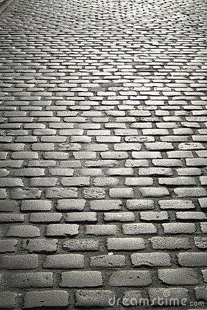Free Cobbled Street Royalty Free Stock Photo - 2141635