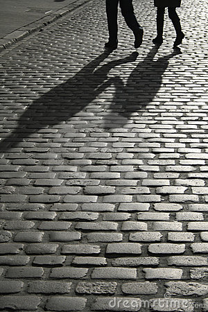 Free Cobbled Street Royalty Free Stock Images - 2141939