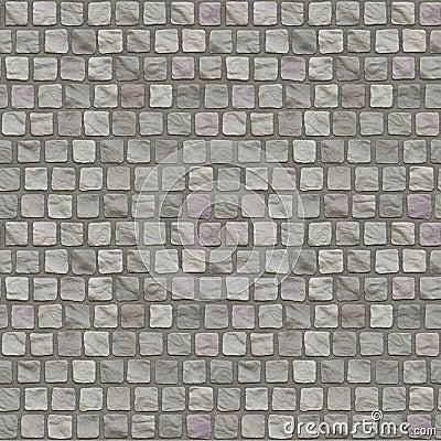 Cobblestone Floor Seamless Pattern
